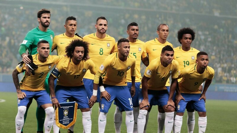 Бразилия - Эквадор. 31 августа 2017. Отборочный матч Чемпионата Мира 2018