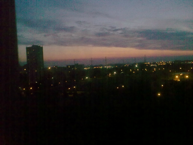 Восход  солнца  16 августа  2017