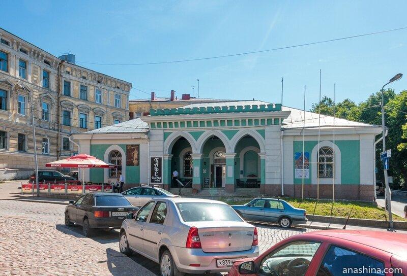 Гауптвахта Выборгской крепости