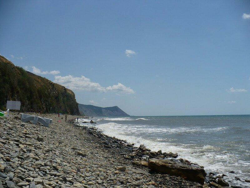 Пляж Высокого берега в Анапе