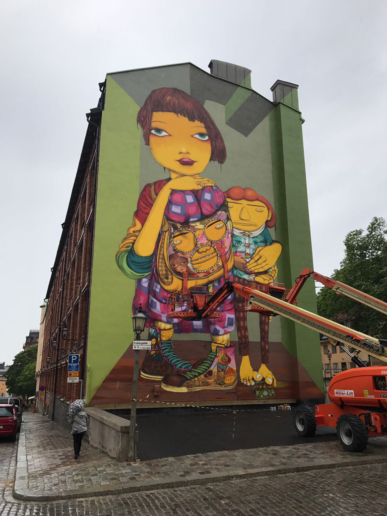 Streets: Os Gemeos (Stockholm)
