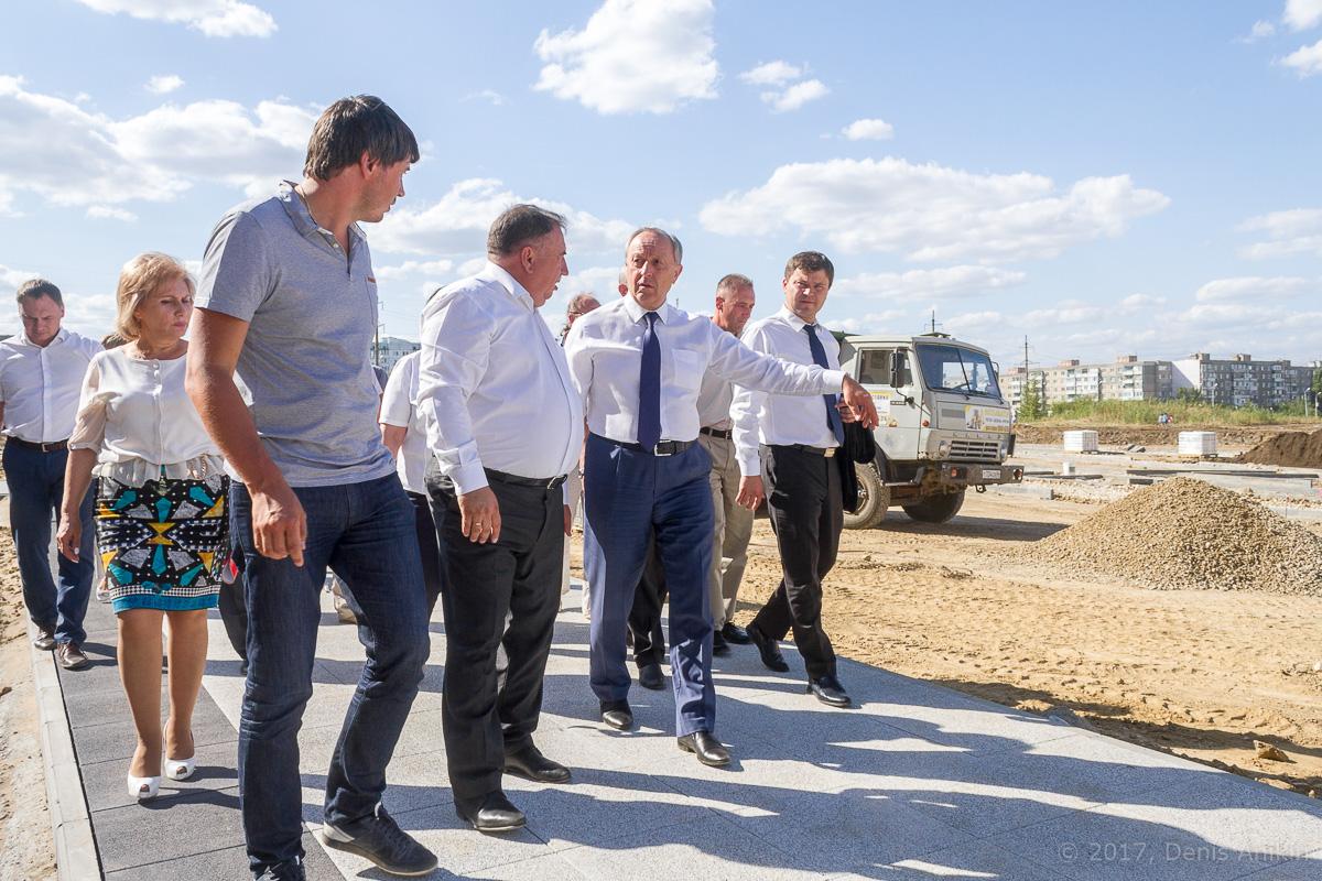 строительство бульвара в Солнечном-2 фото 12
