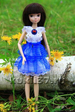 летнее платье Барби