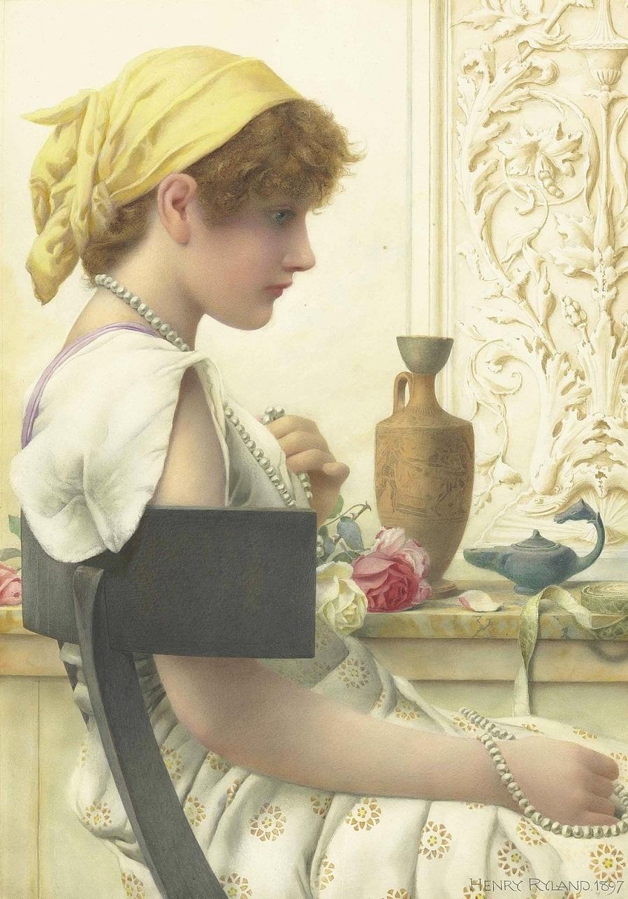 1897 Жемчужины (Pearls)