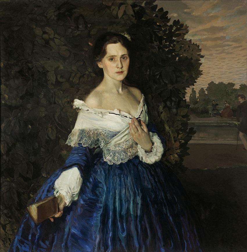 Дама в голубом (картина Сомова).jpg