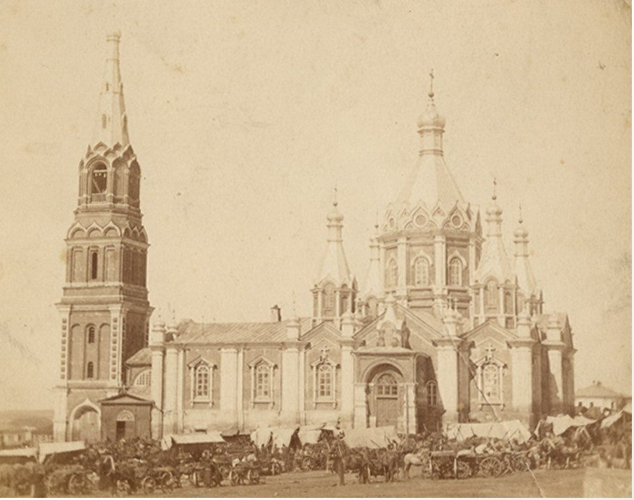 Вознесенский собор (1854). 1900-е