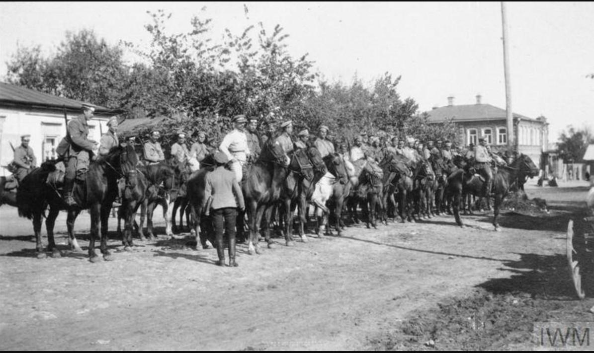 Часть кавалерийского эскадрона 8-й дивизии III Донского корпуса, лето 1919