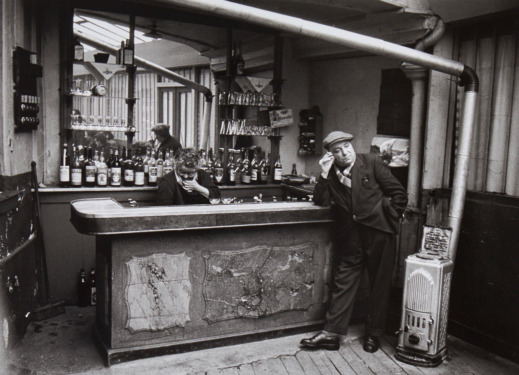 1955. Бистро У Виктора, улица Компанс  в Бельвиле
