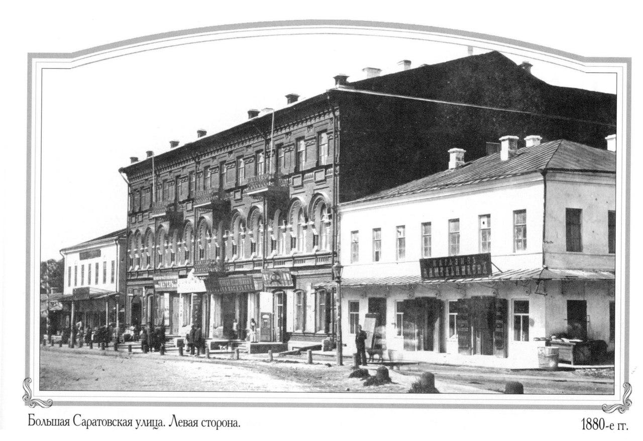 Большая Саратовская улица. Левая сторона