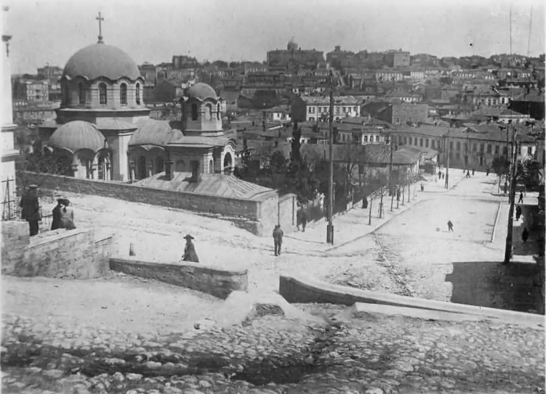 Греческая церковь Трех Святителей. 1918