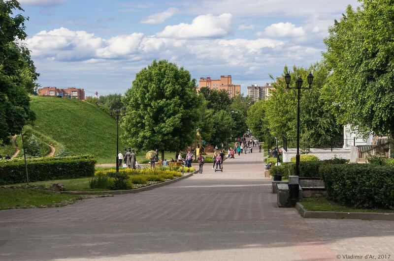 Кропоткинская улица в Дмитрове