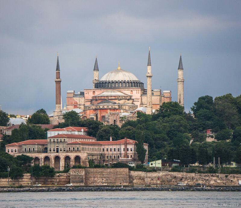 Айя-София - Собор Святой Софии в Стамбуле – великая святыня мировых религий. Часть 1.