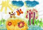 """Алёшина Анастасия (рук. Вялых Светлана Николаевна) - """"Краски лета"""""""