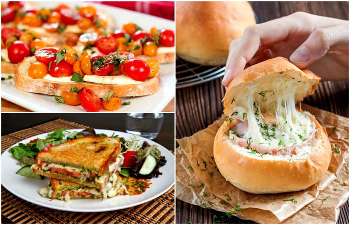 Рецепты простых и вкусных бутербродов на каждый день