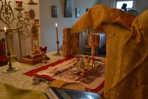 Божественная литургия в Свято-Троицком мужском монастыре
