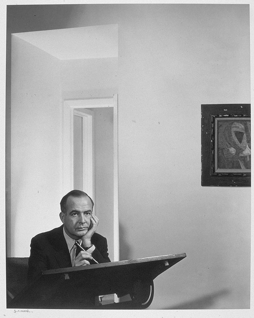 Самуэль Барбер1956 Юсуф Карш Канадский фотограф 1908-2002