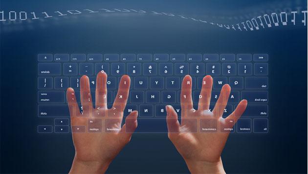 Открытки С днем программиста! Руки программиста