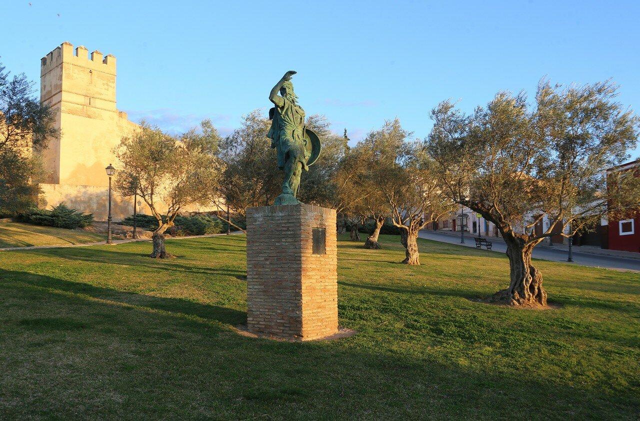 Sunset in Badajoz