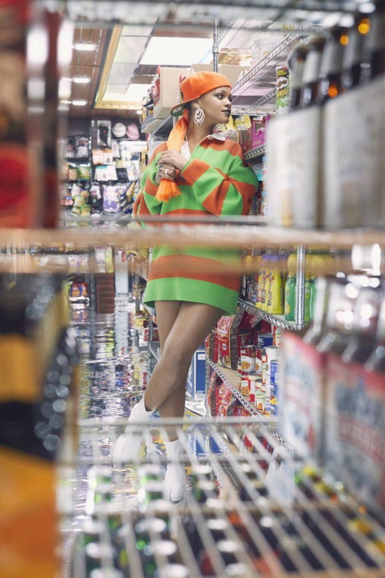 Рианна в Paper Magazine