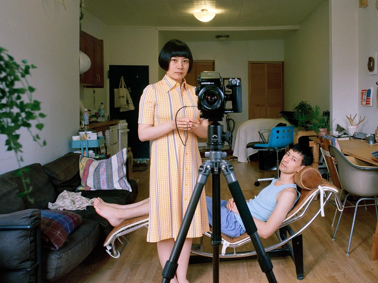 Фотограф из Китая проверила, что происходит, когда мужчина и женщина меняются гендерными ролями
