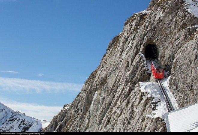 Пилатус — это горный массив в Швейцарских Альпах, одно из тех мест, где