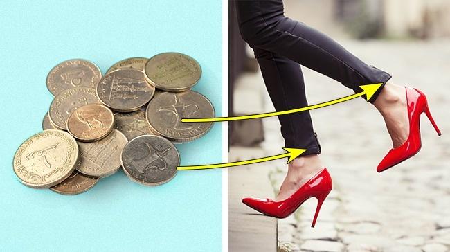© depositphotos  Чтобы низ брюк неморщинился идержал форму, вшейте вотвороты несколько моне