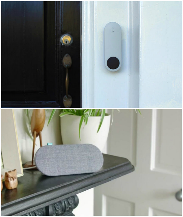 «Умный» дверной звонок Ding. Беспроводной дверной звонок, который состоит из динамика, предназначенн