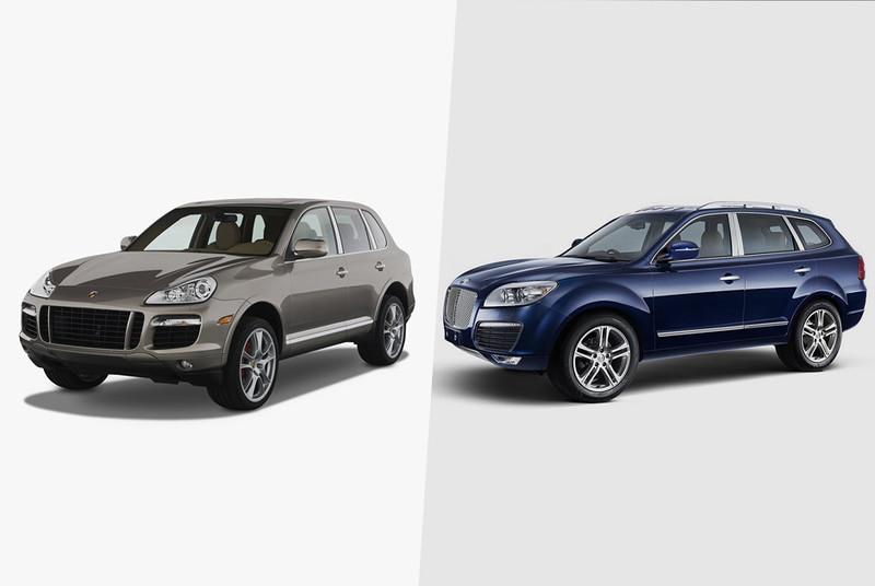 Китайские автопроизводители редко копируют какую-то конкретную модель. Как правило, они стараются вз