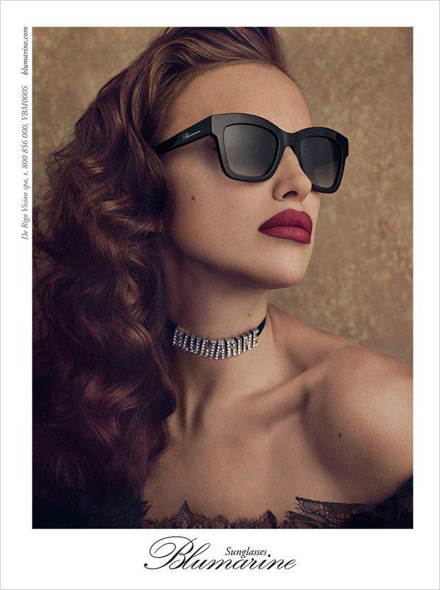 Ирина Шейк в рекламе Blumarine (10 фото)
