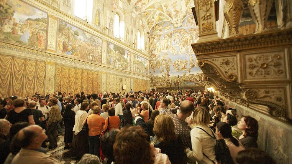 Кстати, смотрите « Сикстинская капелла — невероятное христианское искусство ».  Эйфелева баш