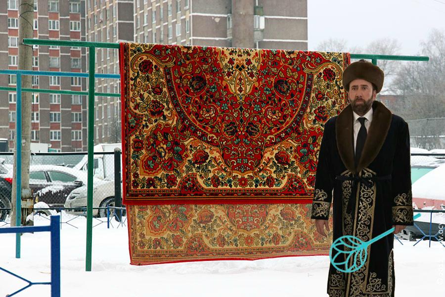 Подборка фотожаб на мем Николаса Кейджа в Казахстане (50 фото)