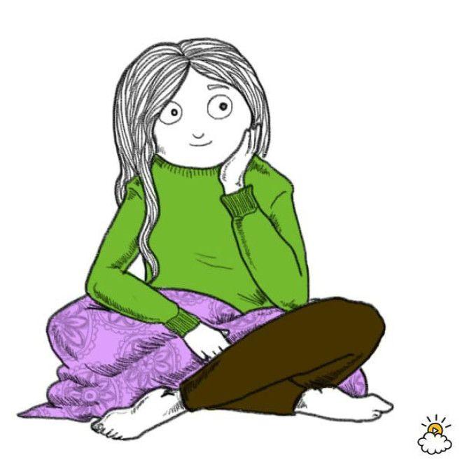 Люди, которые часто сидят в такой позе, обычно бывают эмоционально более гибкими, они проще находят