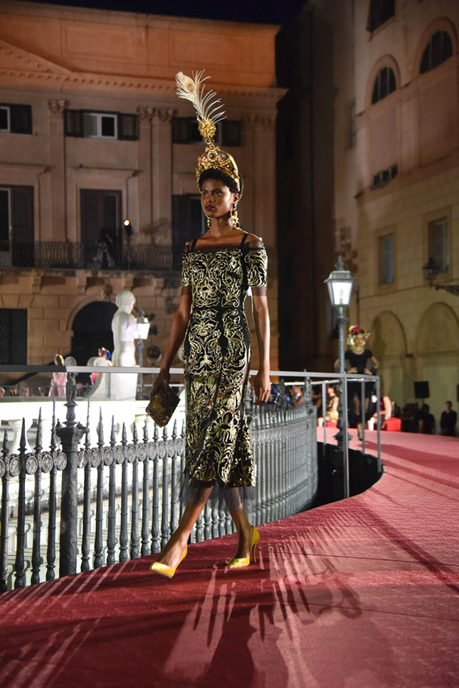 Шоу Dolce & Gabbana Alta Moda в Палермо