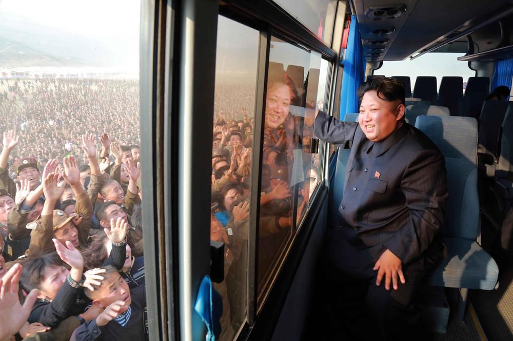 Кадры повседневной жизни в Северной Корее (76 фото)