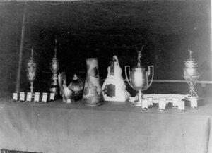 Кубки и медали победителей по гребле