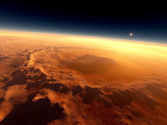 Ученые: Жизнь наМарсе могла жить намного дольше, чем считалось доэтого