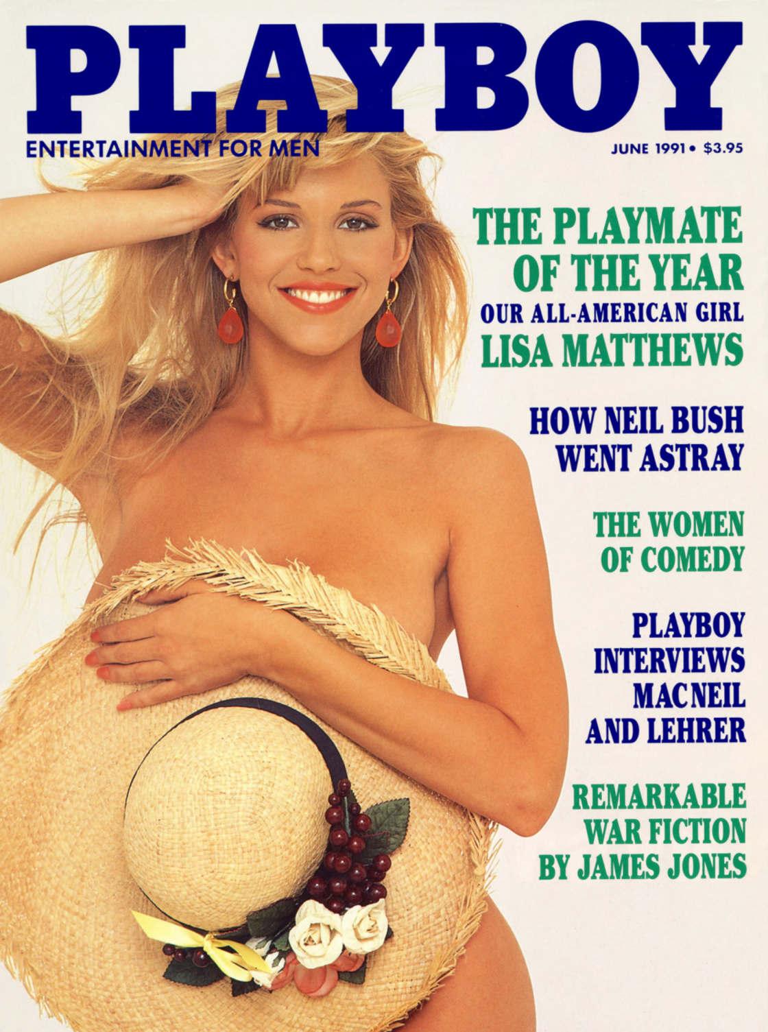 LISA MATTHEWS - Playmate 1990