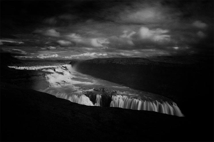 Gullfoss Waterfall Photographer Massimo Margagnoni explores aspects of nature and climate change thr