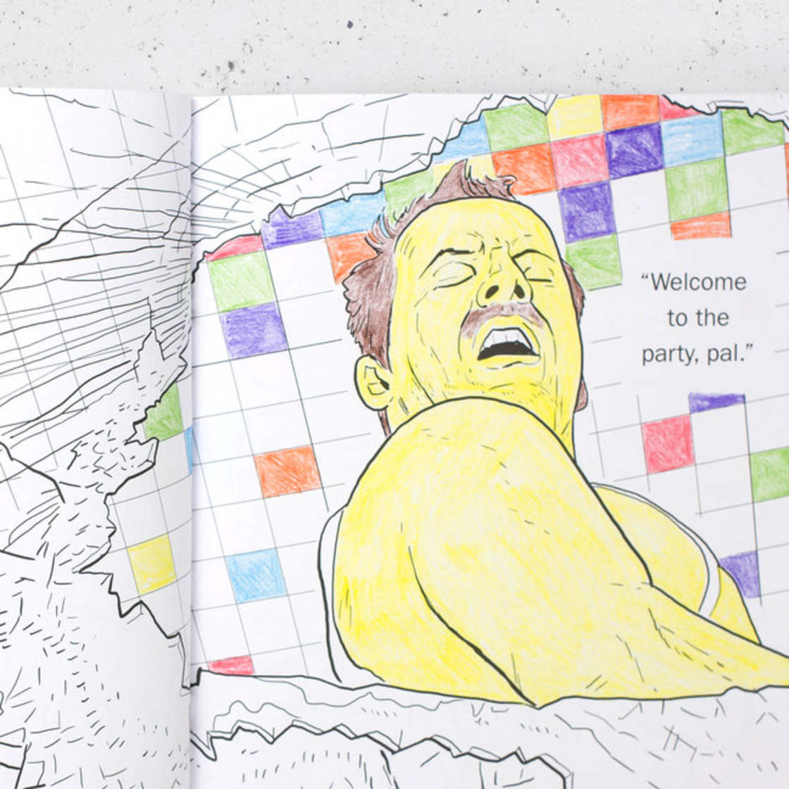 DIE HARD - The coloring book