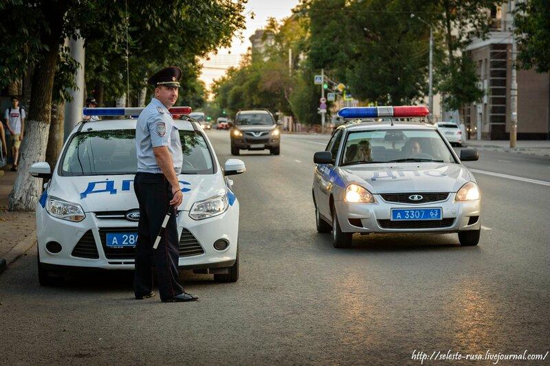 Карпочев вышел на дорогу вслед за Антоновым. ГИБДД Самары провела спецрейд на улицах города