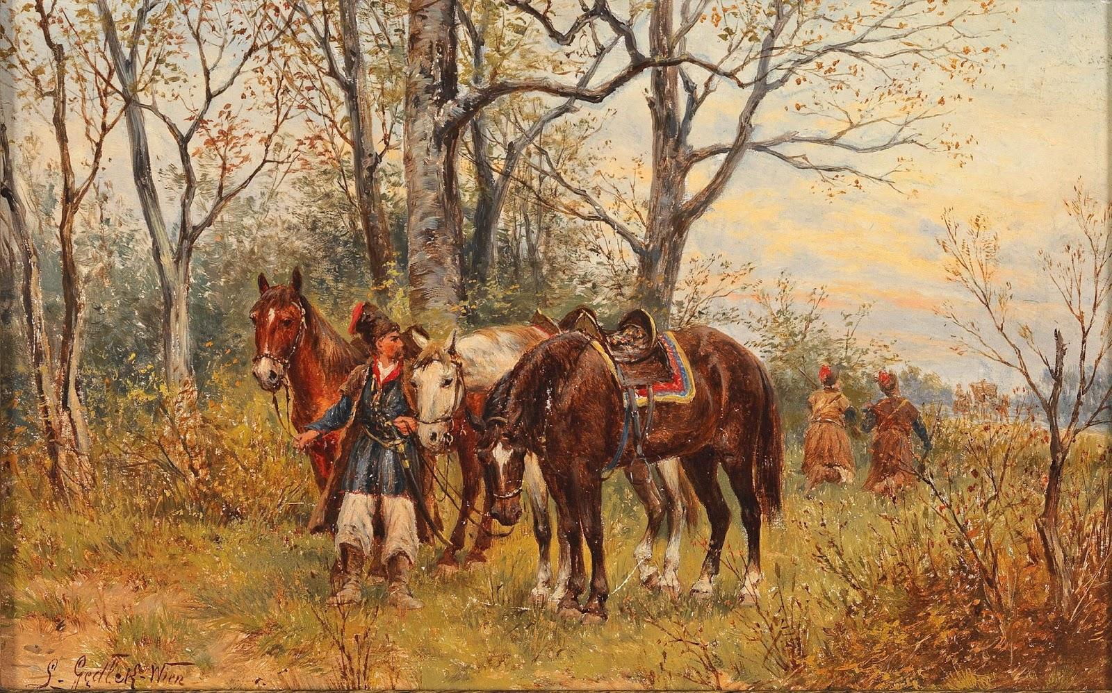 3 Ludwig_Gedlek_Kosakenpatrouille   Cossack patrol.jpg