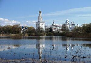 Великий Новгород. Юрьев монастырь.