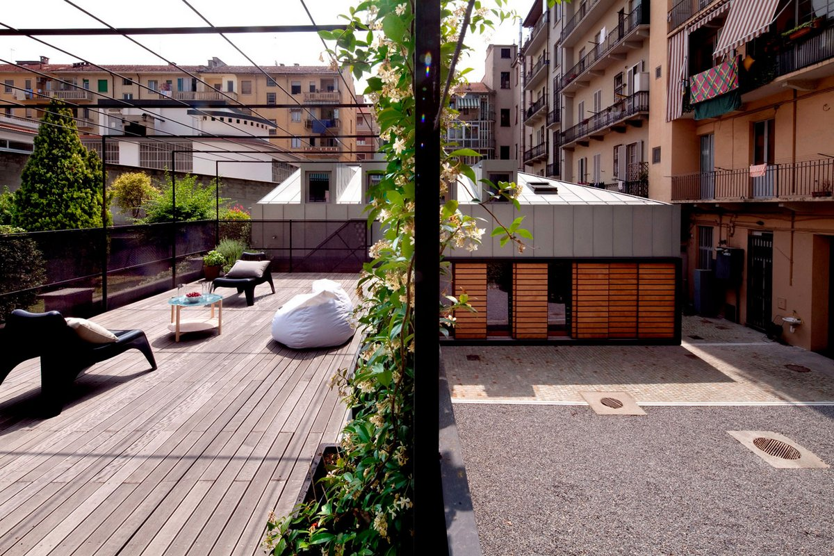 Реконструкция старого дома в центре Турина