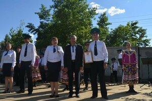 20 июня в городском парке состоялось выступление «Ансамбля песни и пляски пограничного управления ФСБ России по Забайкальскому краю»