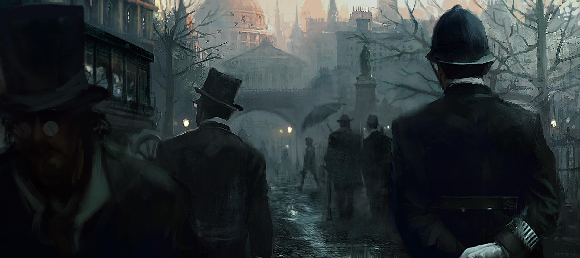 Assassin's Creed Syndicate: Jack the Ripper Concept Art by Morgan Yon