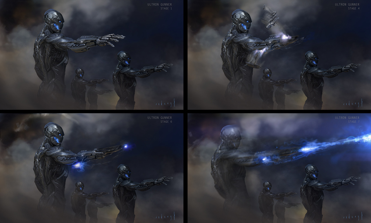 Avengers: Age of Ultron Concept Art by Rodney Fuentebella