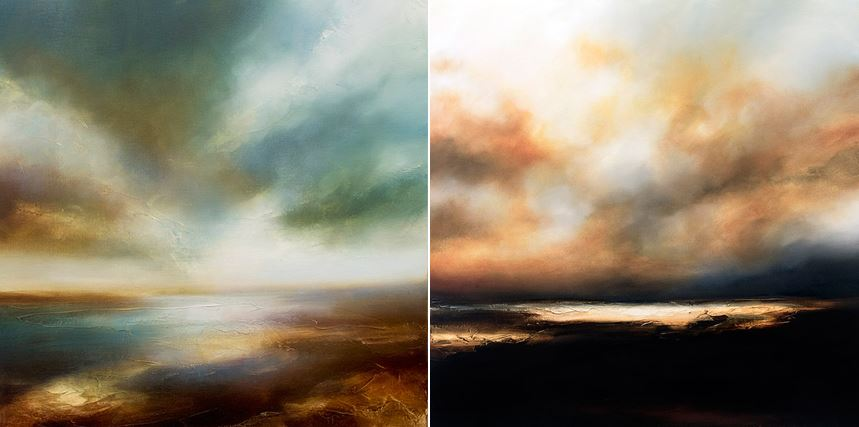 Mysterious Hazy Paintings of Maritime Landscapes (11 pics)