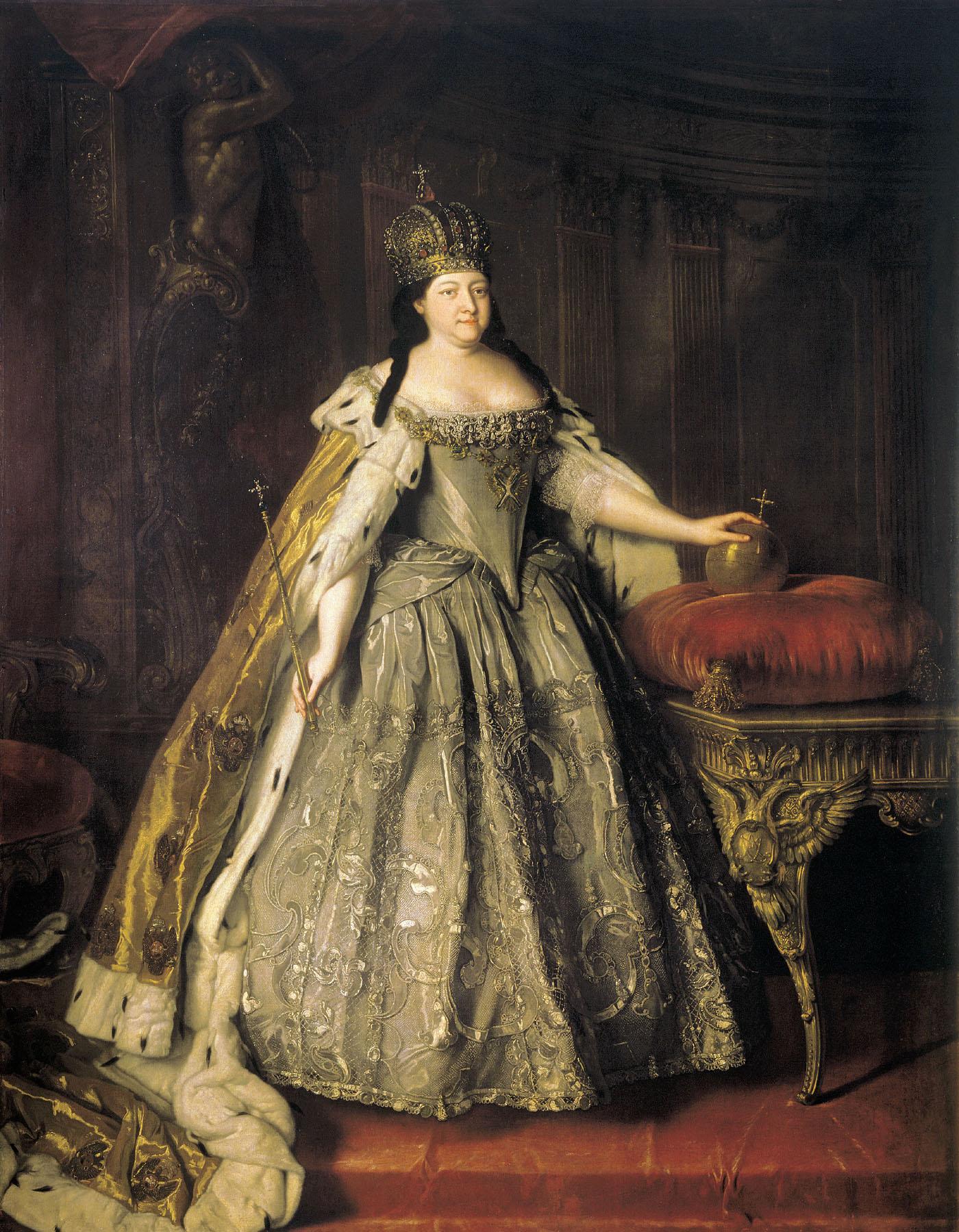Городское оформление в царствование императрицы Анны Иоанновны