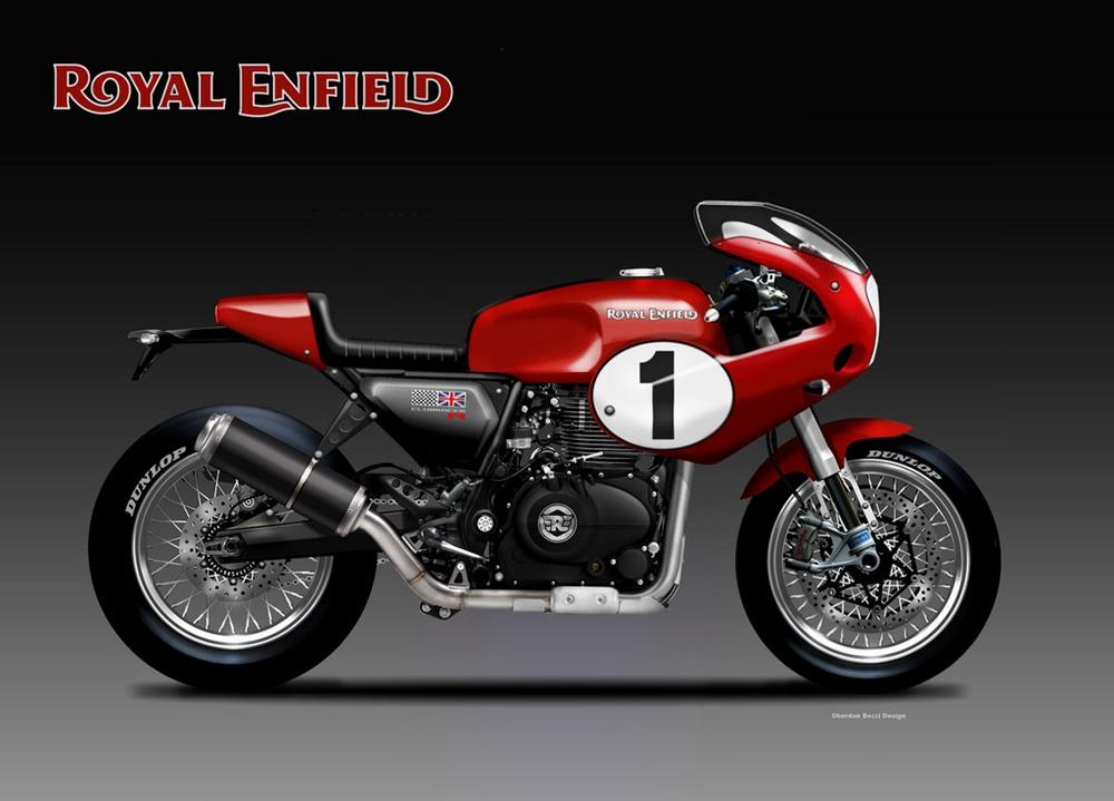 Обердэн Бецци: концепт Royal Enfield Clubracer 400R