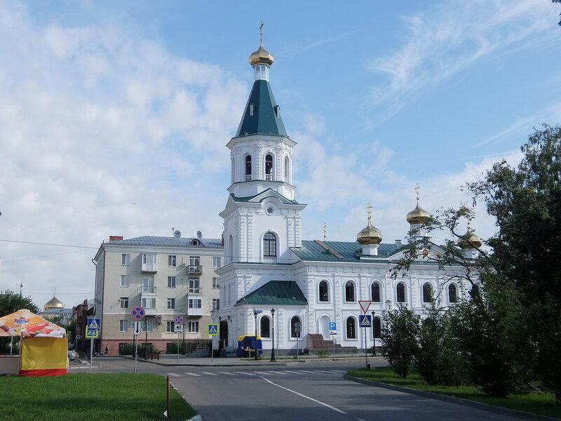 Омск - Воскресенский военный собор